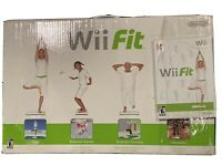 Nintendo Wii Fit Balance Board Bundle w/ 1 Wii Fit  Game