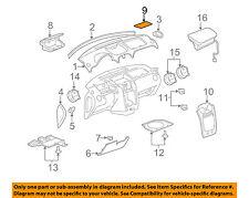 Chevrolet GM OEM 06-11 HHR Instrument Panel Dash-Compartment Mat 22733290