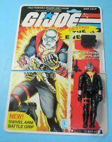 1983 GI Joe Cobra Weapons Supplier Destro v1 Figure Cut File Card Back *Complete