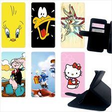 Custodia cover foderino LIBRO portafoglio per tutti Cellulari Samsung 1 FA22
