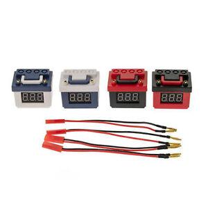 Niederspannungsalarm Lipobatterie Dekoration für 1/10 RC TRX4 Axial SCX10 90046