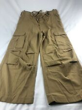 Abercrombie Fitch Military Cargo Type 92 Trouser Pants Men Size XL Short 34 x 25