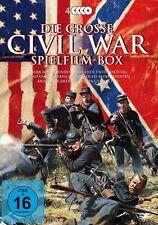 4 DVDs * DIE GROSSE CIVIL WAR SPIELFILM - BOX # NEU OVP %