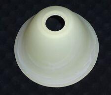 Lampenschirm Ø 15,5cm / 9cm Ersatzschirm Glas E14  Fassung beige alabaster