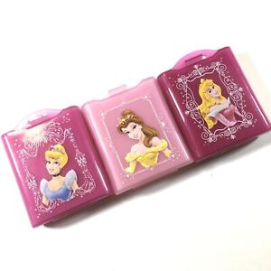 3 Pack Disney Princess Cases for Nintendo DS Cartridges