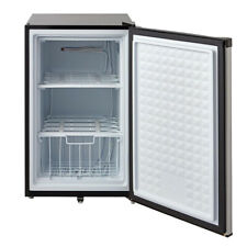 SMAD 3.0 Cubic Feet Upright Freezers Stainless Steel With Lock Stand Up Freezer