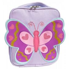 New Giggle Me Pink Butterfly Purple Lunch Bag Box Kids Children's Girls School