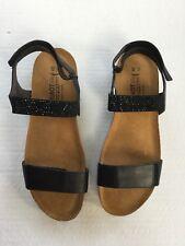 Naot Women's Lisa Wedge Sandal Black 40 M EU / 8.5 - 9 B(M) US