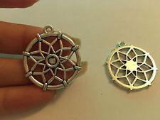 10 Argento tibetano ciondoli pendenti link sogno cather antico all'ingrosso UK