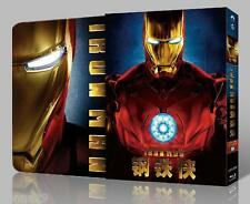Iron Man Bluray BLUFANS EXKLUSIV linsenförmig OOP selten Steelbook no.20