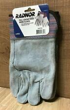 RADNOR Large Full Leather Back Work Gloves   Model 64057330