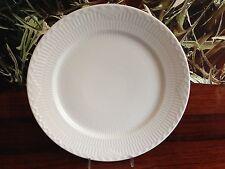 Royal Copenhagen Blanc Halbspitze/Blanc Half Dentelle - Noble Assiette Ø 27 Cm