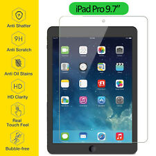 Tempered Glass Film Screen Protector Ultra Thin Clear For Apple iPad Pro 9.7""