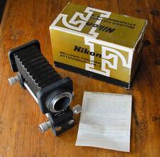 NIKON PB-5 Bellows Focusing attachment in box  Macro  PB5 Light Tight EXC