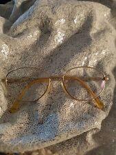 Seiko Eyeglass Frames Gold Titanium Full Rim Aviator 135 1360 FRAMES ONLY