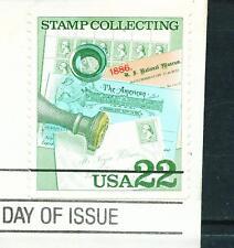 1986 FDC Set of 4 - Scott# 2198-2201 - Stamp Collecting Pane ERROR - SCV$300.00