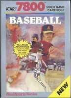 RealSports Baseball (Atari 7800) New in the BOX(NIB) NTSC