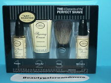 NIB THE ART OF SHAVING 4 ELEMENTS OF THE PERFECT SHAVE STARTER KIT UNSCENTED NEW