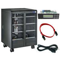 15 Burner (18 Bay) SATA CD DVD Duplicator Copier Barebone Tower Replicator Case