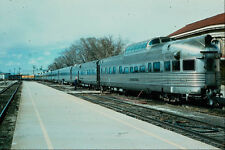 578020 DRGW California Zephyr With Observation Silver Sky A4 Photo Print