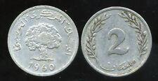 TUNISIE  2 millim  1960  ( bis )
