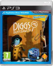 DIGGS Night Crawler PS3 MOVE GIOCHI (in ottime condizioni)