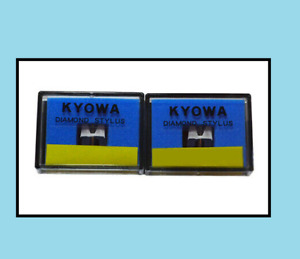 2 (PAIR) Replacement Stylus Needle For Stanton 500 505 Cartridge MkII, V3 Styli