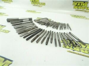 """LOT OF 51 ASSORTED HSS TAPS 2-56NC TO 9/16""""-18NF REGAL OSG NORTH AMERICA"""