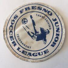 Fresno Junior Soccer League Thanksgiving Tournament Patch