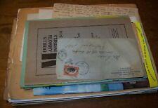 LOT VINTAGE CANANDAIGUA NY EPHEMERA LETTER BILLHEAD BROCHURE ADVERTISING PAPER