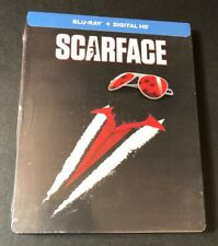Scarface [ Limited STEELBOOK Edition v1 ] (Blu-ray Disc) NEW