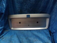 VAUXHALL VECTRA B FACELIFT NUMBER PLATE SURROUND SILVER 99 TO 02  SHAPE