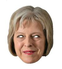 Thersea May Single 2D Card Party Face Mask - politician British Prime Minister