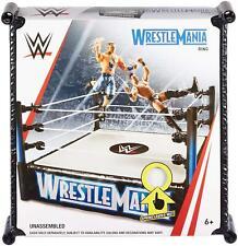WWE Wrestlemania Superstar Ring Playset Official NEW GDB88