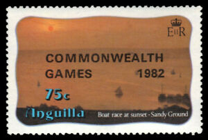 """ANGUILLA 509 (SG532) - Commonwealth Games """"Boat Race """" (pa20545)"""