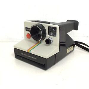 Vintage Polaroid One Step Rainbow Stripe Instant Film Camera #622