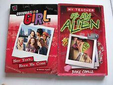 GENERATION GIRL/MY TEACHER IS AN ALIEN 2 PAPERBACKS
