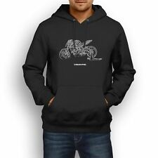 MV Agusta Brutale 800RR 2017 Inspired Motorcycle Art Men's Hoodie
