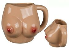 Boobs Booby Mug Novelty Ceramic Tea Coffee Cup Office Funny Secret Santa Gift
