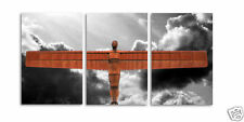 Angel of the North Framed Triple Canvas Art Print