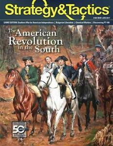 Decision Game Strategy & Tactic  #304 w/The American Revolution in the Sou New