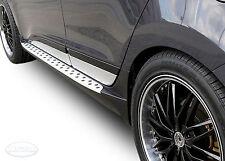 2 Marche-Pieds Latéraux MARCHE PIEDS ALUMINIUM Hyundai Ix35 2010 - 2015