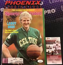 Larry Bird Signed Auto Autograph Sports Illustrated Magazine JSA PHX