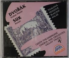 DVORAK, SUK: Stabat Mater, Asrael SUPRAPHON Sealed 2x CD OOP Rare Talich