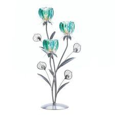Gallery of Light Triple Peacock Bloom Candleholder