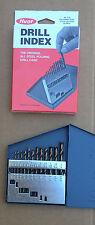 Gift Idea 13 PC Cobalt Jobber Drill Bit Set. 1/16 - 1/4   Huot Case, 135 deg