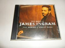 CD  Ingram James - The Best of - The Power of Great Music