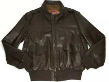 Vintage Goatskin Leather Jacket Cooper Type A-2 USAF Flight Bomber Size 46L
