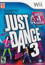 Just Dance 3 Nintendo WII Used Disk in Great condition- COMPLETE- CIB Fast Ship!