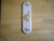 Wall Plaque China Outdoor Wall Plaque With A Floral Design